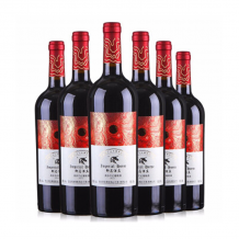 御马酒庄 美乐干红葡萄酒 6支整箱装