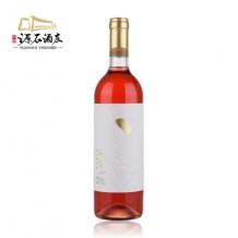 源石酒庄 石黛半甜桃红葡萄酒 贺兰山东麓葡萄酒