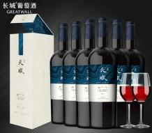 长城天赋酒庄赤霞珠整箱干红酒 6支/箱